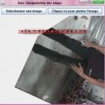 Java: Pivoter une image